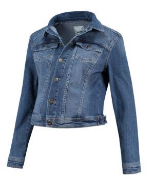 Těhotenská bunda džínová